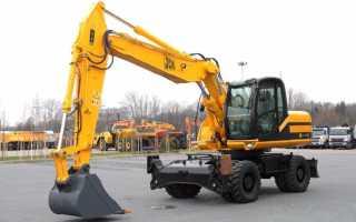 Jcb 160 технические характеристики