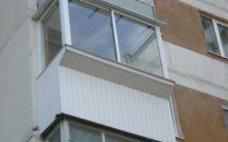 Отделка фасада балкона фото