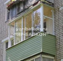Виды остекления балкона хрущёвки