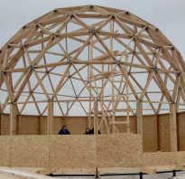 Купольная крыша конструкция