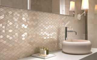 Ванная комната под мозаику