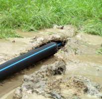 Труба водопроводная полиэтиленовая