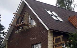 Мансардная крыша двухскатная конструкция