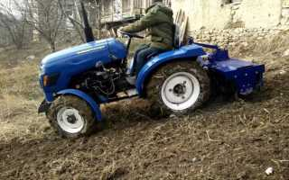 Мини трактор ру