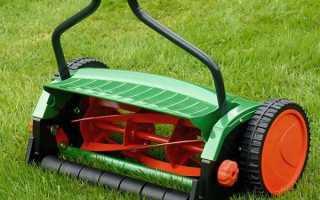 Ручная газонокосилка механическая