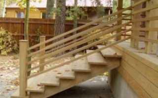 Как сделать лестницу в деревянном доме