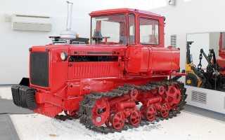 Первые трактора ссср