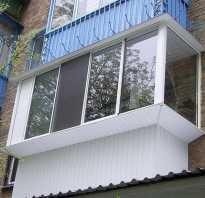 Балкон с выступом