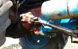 Трансмиссия трактора мтз 82