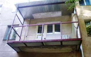 Как усилить балкон в хрущевке