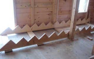Как сделать деревянную лестницу своими руками видео