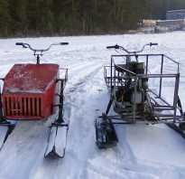 Самодельная гусеница для снегохода