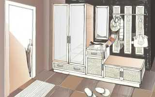 Прихожая тамбур в частном доме