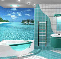 Ванная комната морская волна