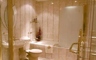 Ремонт ванной и туалета панелями пвх фото