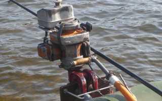 Как с бензопилы сделать лодочный мотор