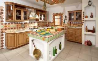 Кухня деревенский стиль фото