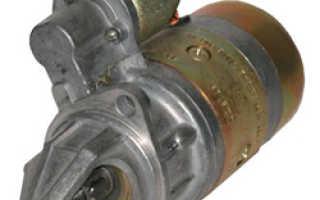 Замена стартера уаз буханка 409 двигатель