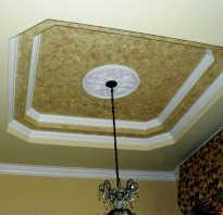 Двухъярусные потолки в зал из гипсокартона фото