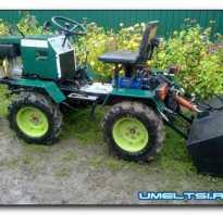 Самодельные мини трактора для домашнего хозяйства