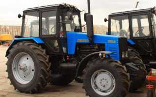 Технические характеристики трактора мтз 1221