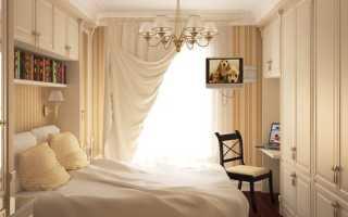 Как подобрать шторы в маленькую спальню