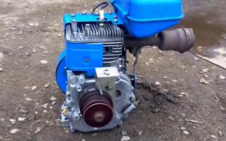 Бензодвигатель для мотоблока