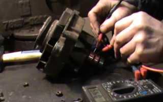 Замена щеток генератора уаз буханка
