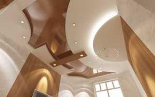 Потолок в прихожей из гипсокартона своими руками