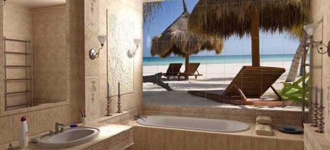 Ванная комната море