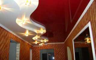 Оформление потолка в прихожей фото