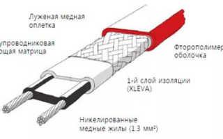 Саморегулирующий греющий кабель для водопровода видео