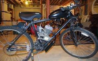 Велосипед с мотором бензиновый своими руками