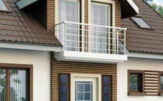 Балконы частного дома