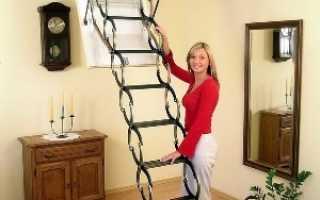 Как правильно установить чердачную лестницу
