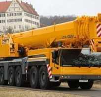 Кран либхер 350 тонн технические характеристики
