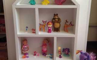 Как сделать игрушечную лестницу
