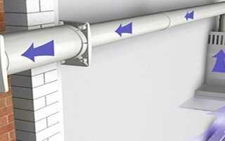 Как правильно установить обратный клапан на вентиляцию