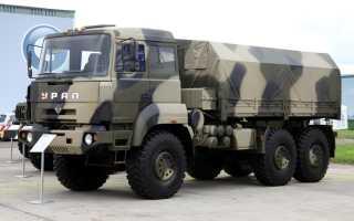 Урал 6370 технические характеристики