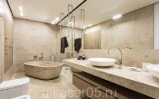 Ванная комната из натурального камня