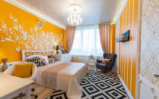 Интерьер спальни 17 м2