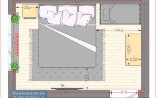 Как сделать спальню 11 кв