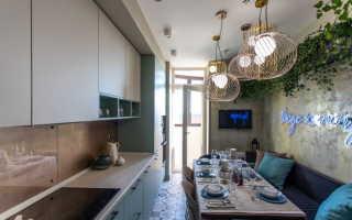 Кухня дизайн интерьер фото прямоугольная