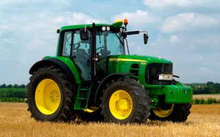 Трактор john deere 6930