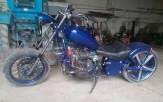 Как сделать самодельный мотоцикл