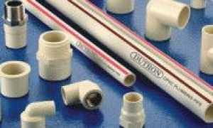 Соединение пластиковых труб для водопровода