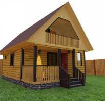 Мансардные двухскатные крыши