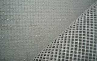 Сетка для шпаклевки стен