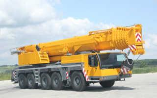 Кран либхер 1200 тонн технические характеристики