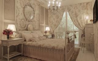 Дизайн спальни 17 м